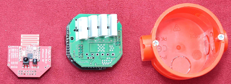 Inteligentny Dom instalacja w puszkach elektrycznych przewodowo lub bezprzewodowo